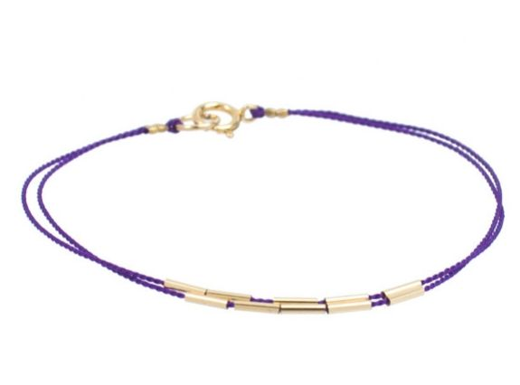 I love the simplicity of this handmade bracelet