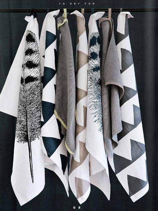 beautiful! tea towels