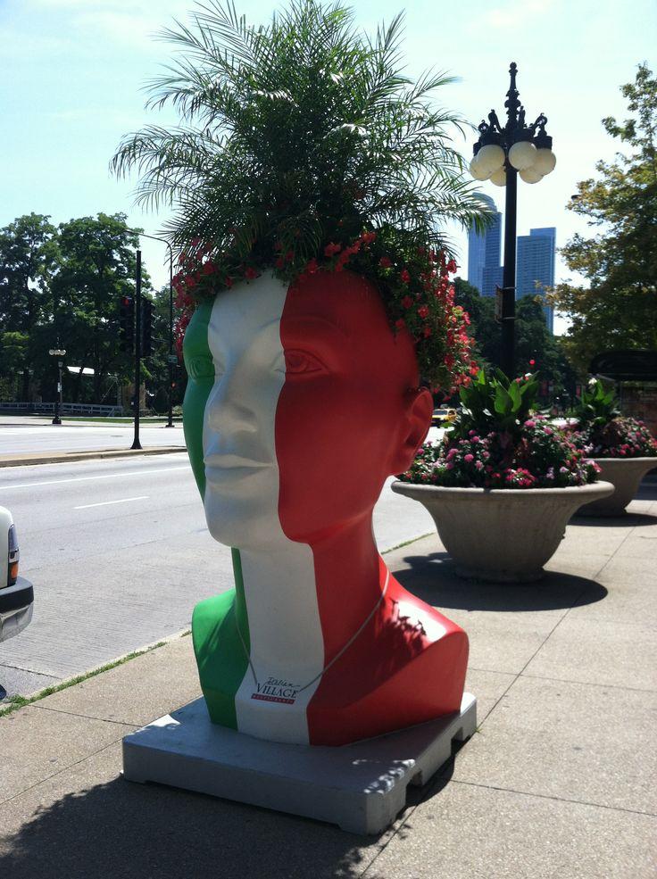 Michigan Avenue #planter