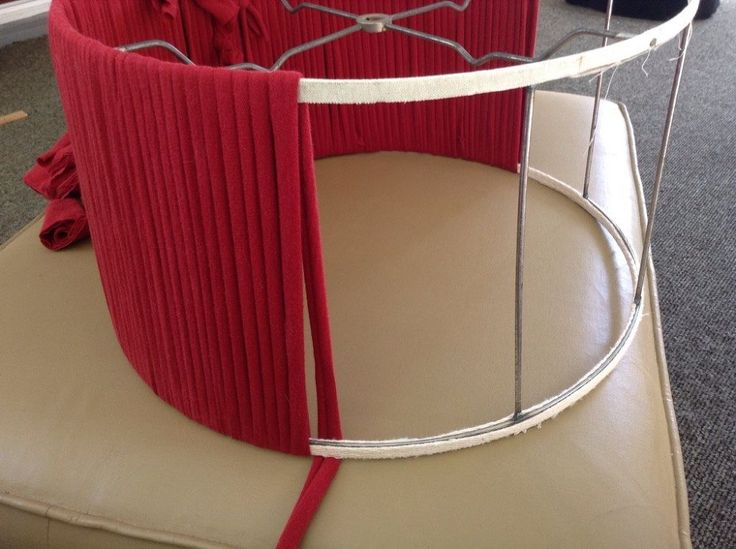 Reviving a Vintage Lampshade