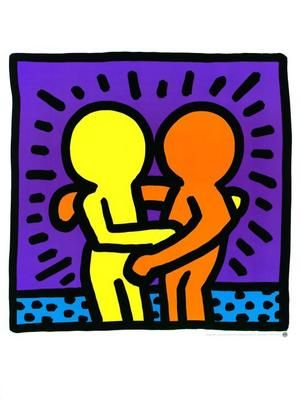 Keith Haring How you can get so famous by drawing little men without a face