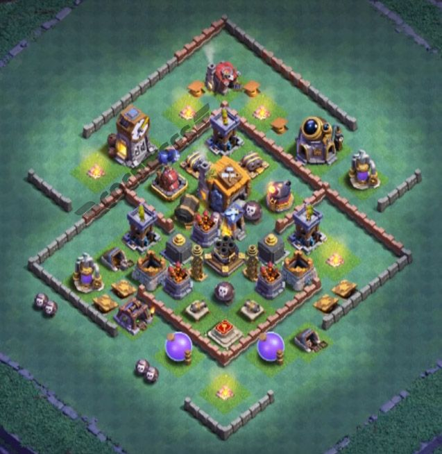 12 Best Builder Hall 7 Base Links 2020 New Anti 2 Stars Builder Clash Of Clans Hall
