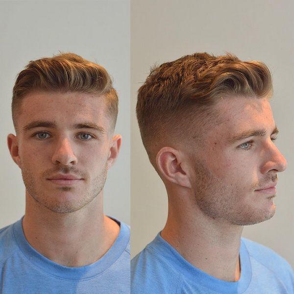 lange auf Top + kurze Seiten |  15 Frische Männer Kurze Haarschnitte | Frisur