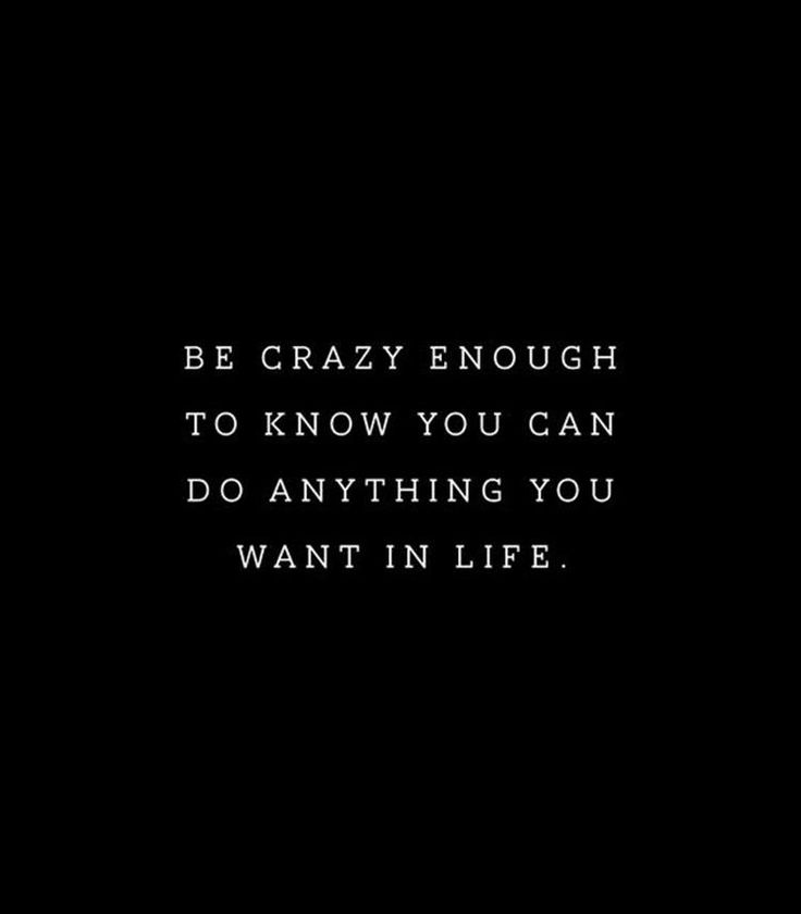 I'm that crazy. I know what I'm putting forth I attract like a magnet. Positive vibes.