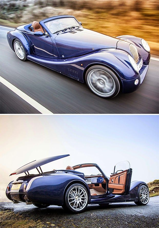 Morgan Aero 8. Unfortunately tooling costs meant they had to abandon the retractable steel roof