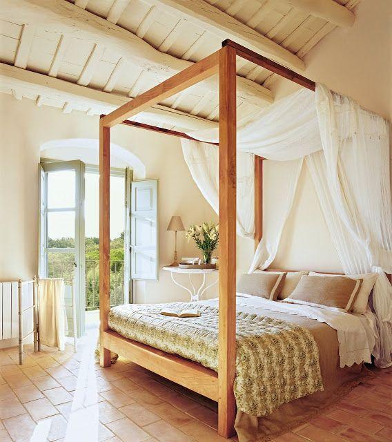 camas con dosel