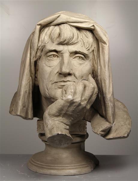 Reinhold Begas (1831-1911) - Die Philosophie (Schiller-Denkmal Berlin) (1871)