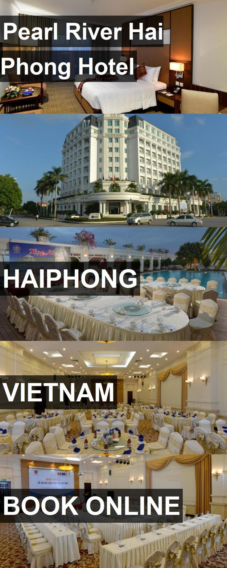 Pearl River Hai Phong Hotel in Haiphong, Vietnam. For more information, photos, reviews and best prices please follow the link. #Vietnam #Haiphong #travel #vacation #hotel