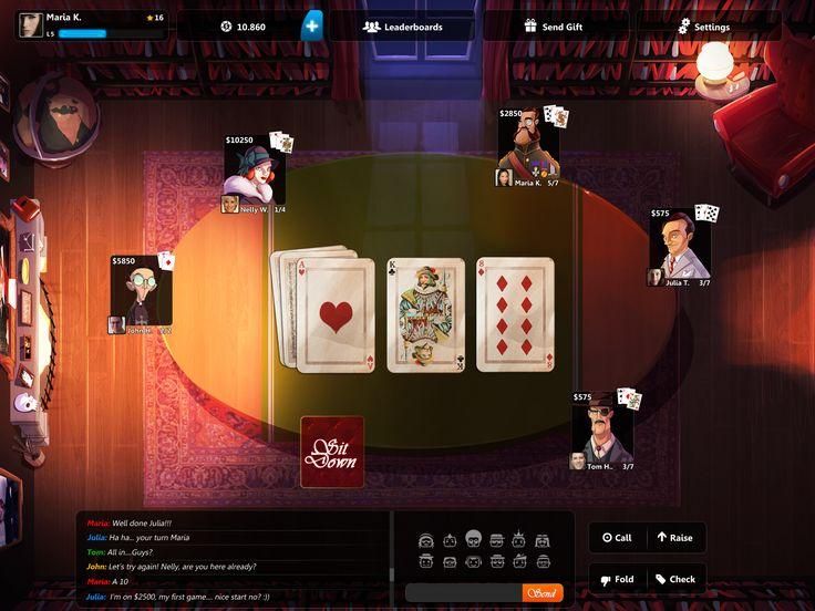 Poker at Midnight Mansion