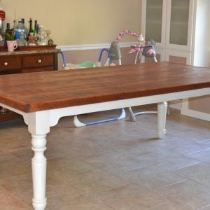 Large Farmhouse Dining Table Legs