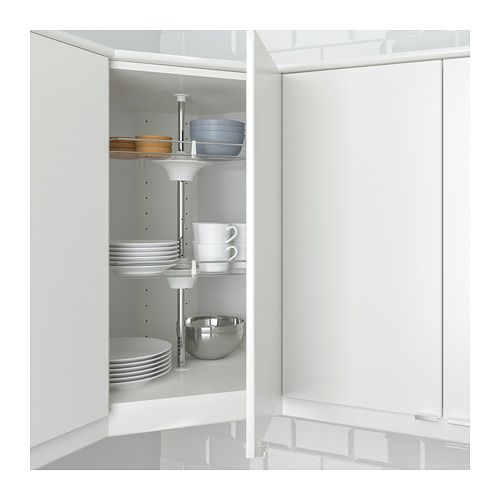 UTRUSTA Wall corner cabinet carousel  - IKEA, $69