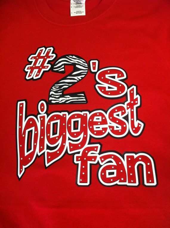 Hey, I found this really awesome Etsy listing at http://www.etsy.com/listing/78596464/biggest-fan-bling-tee-customize-with