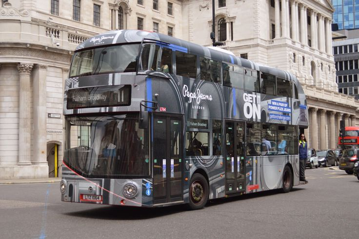 Near-Side view of LT 64 (LTZ 1064) Go-Ahead London New Routemaster