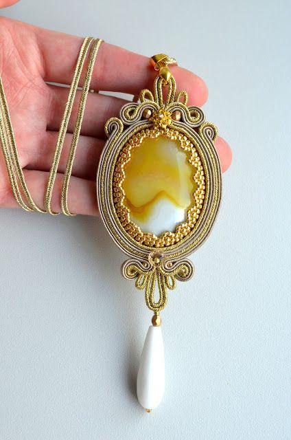Soutache Jewelry. Artystyczna Biżuteria Autorska Katarzyna Wojtak: sutasz