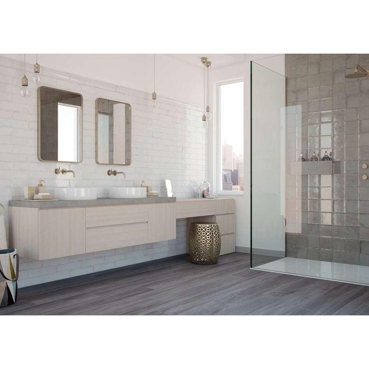 Die besten 25+ Badezimmer Akzente Ideen auf Pinterest Gold bad - wc fliesen beige
