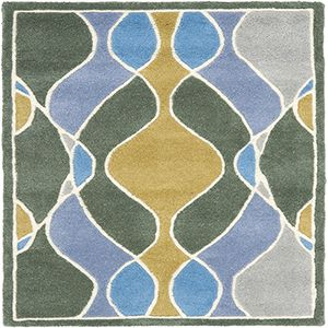 Traditional Grey and Multicolor Rectangular: 2 Ft. x 3 Ft. Accent Rug