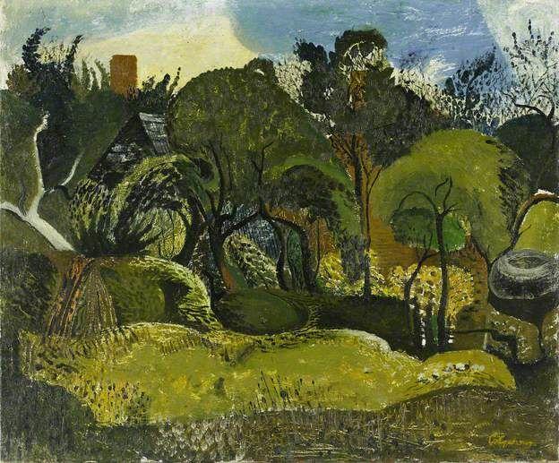 Church Lench, 1942 by Robert Colquhoun (1914-1962)