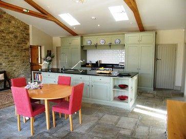 Barn Conversion, Manor Farm House, Glanvilles Wootton - farmhouse - kitchen - bristol - Proctor Watts Cole Rutter