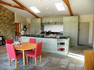 Barn Conversion, Manor Farm House, Glanvilles Wootton - farmhouse - kitchen - bristol - Proctor Watts Cole Rutter