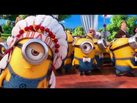 YMCA Minions HD ... ADMIT IT! You KNEW what they were sayin & you were singing it in ENGLISH weren't you?!
