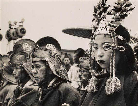 Robert Capa 1954 Japan. Festival
