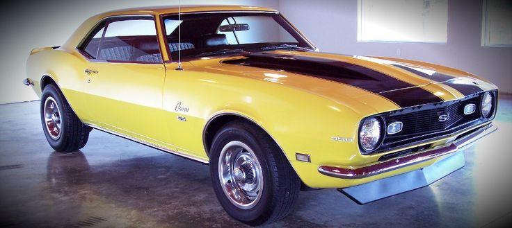 yellow 68 camaro for sale | Bikespiration | Pinterest ...