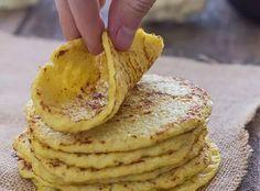 Tortilhas de couve-flor (glúten-free) - Emagreça Agora ou NuncaEmagreça Agora ou Nunca