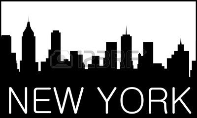 related new york city skyline outline drawing clipart. Black Bedroom Furniture Sets. Home Design Ideas