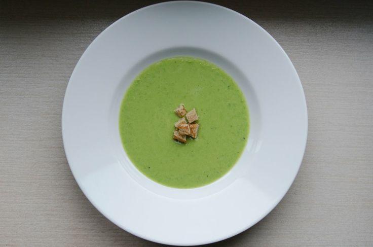 Creamy Pea Soup (Hráškový krém)