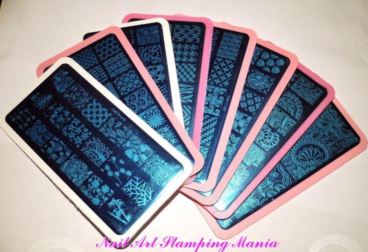 Nail Art Stamping Mania: Born Pretty BP Rectangular Plates Review