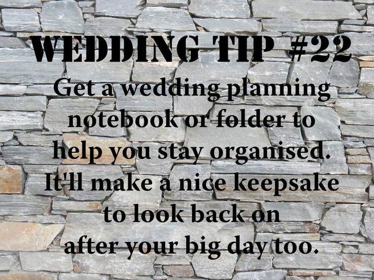 Wedding Tip #22