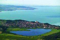 Tihany Belső-tó. Hungary