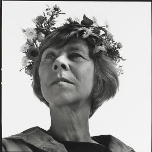 Tove Jansson. She was much more than just the creator of the marvellous Moomins...can't fail to be inspired by her talent as an artist and beautiful use of language, her quiet social and political commentary, her love for her mother and her partner, her enthusiasm and interest in others but desire to live a simple life.