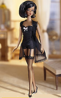 Lingerie Barbie 5. Still in the box, but so tempted to take her out. LOL! Silkstone.