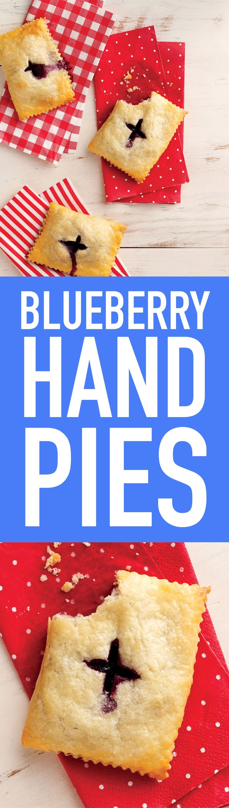 Make the most of blueberry season with these portable homemade pastries (just right for camping adventures and road trips!).