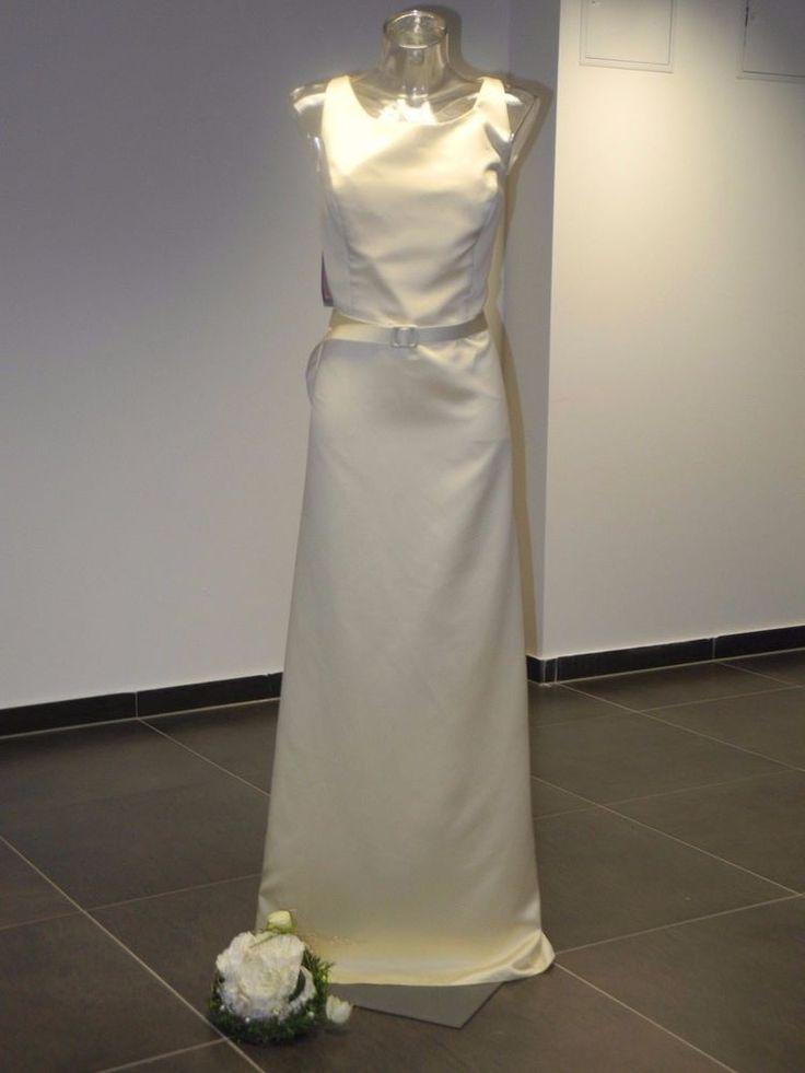 Superb Edel Abendkleid Brautkleid Alfred Angelo Ausstellungsst ck gr