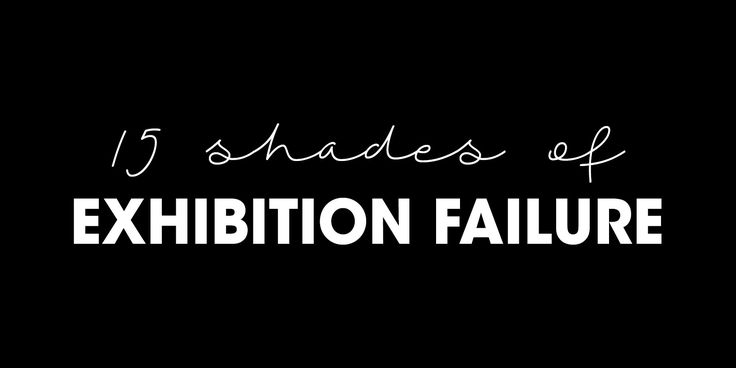15 Reasons why companies fail at the exhibitions