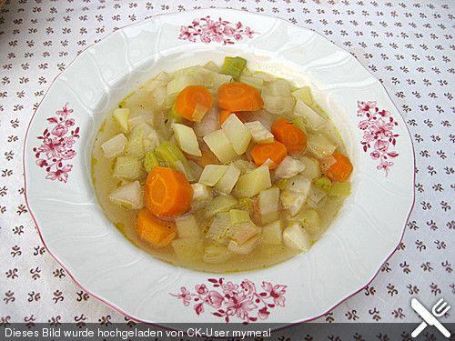 Gemüsesuppe klassisch