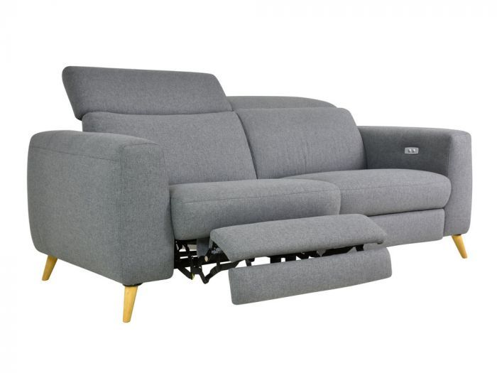 Canape Scandinave Relax Electrique 2 5 Places Anthracite Kekka