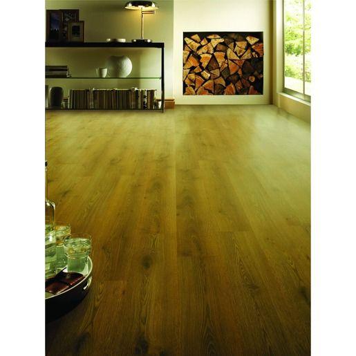 Wickes Butter Oak Laminate Flooring