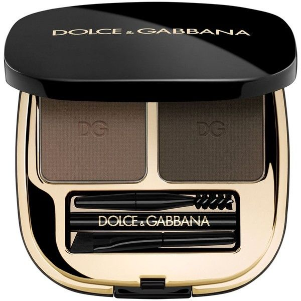 Dolce & Gabbana Emotion Eyes Brow Powder Duo - Blonde ($55) ❤ liked on Polyvore featuring beauty products, makeup, eye makeup, eyeshadow, eyebrow kit, brow kit, eye brow kit and eye brow makeup