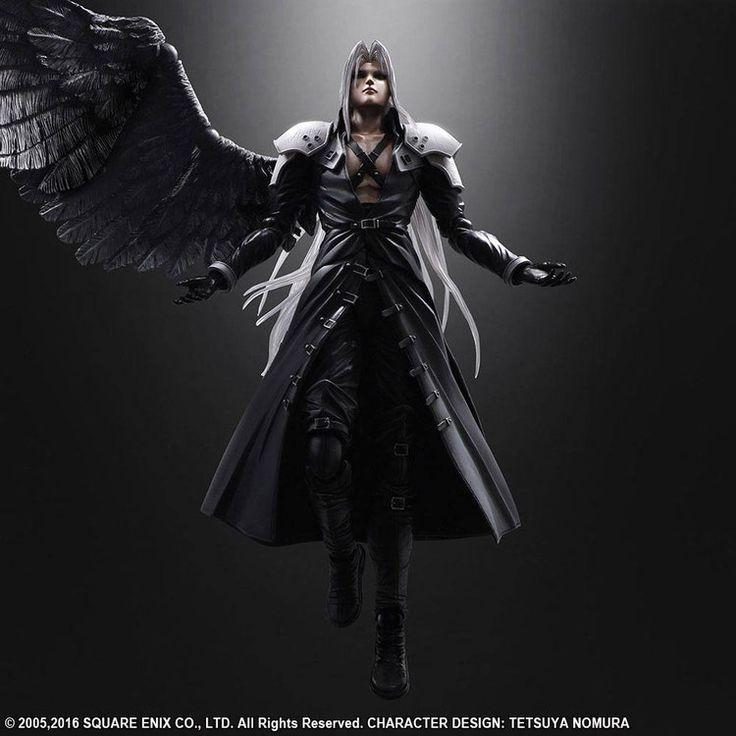 Final Fantasy VII Advent Children Play Arts Kai Actionfigur Sephiroth 26 cm