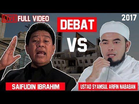 DEBAT ISLAM KRISTEN MUHAMAD YAHYA WALONI MANTAN PENDETA MASUK ISLAM - YouTube