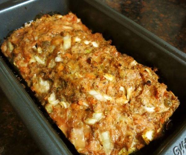 Paleo Sweet Potato Meatloaf #Freezes well #Good Left overs