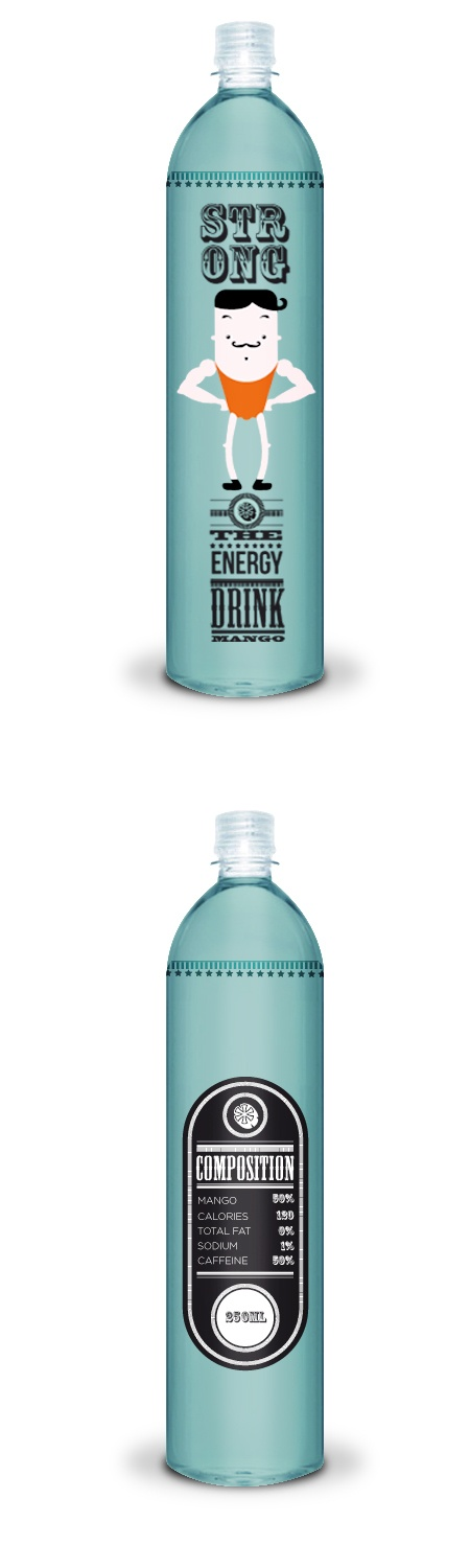 Strong -The Energy Drink- on Behance