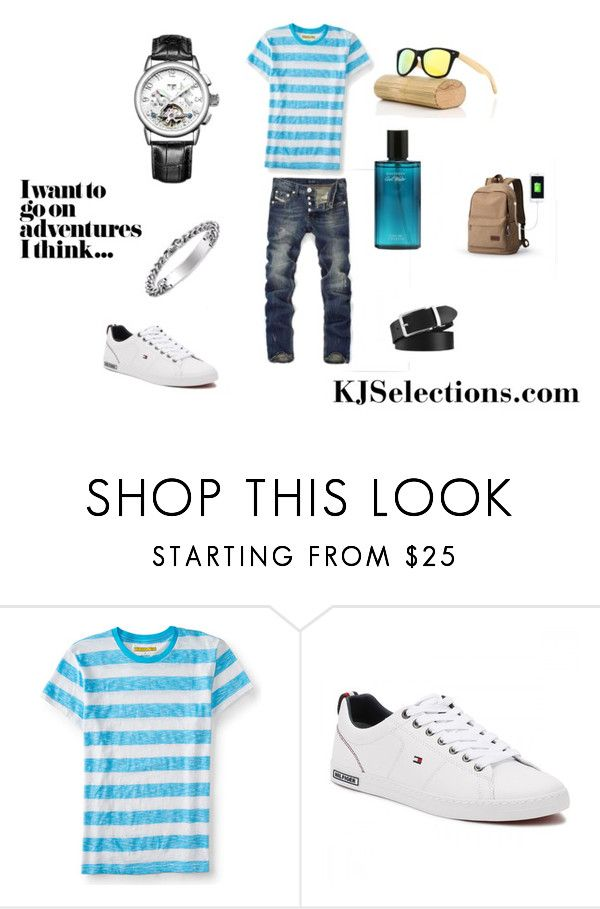 """""""Sexy Adventurous Man"""" by kjselections ❤ liked on Polyvore featuring Aéropostale, men's fashion and menswear"""