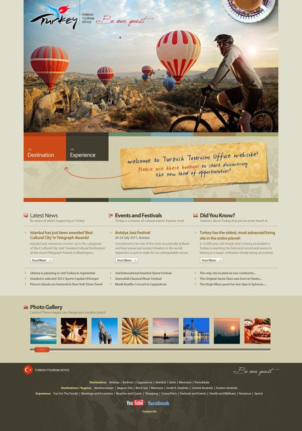Tourism Turkey Website