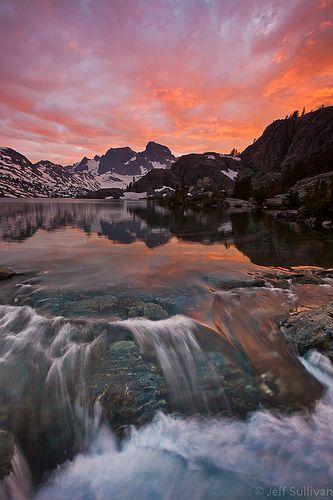 Ansel Adams Wilderness Sunset