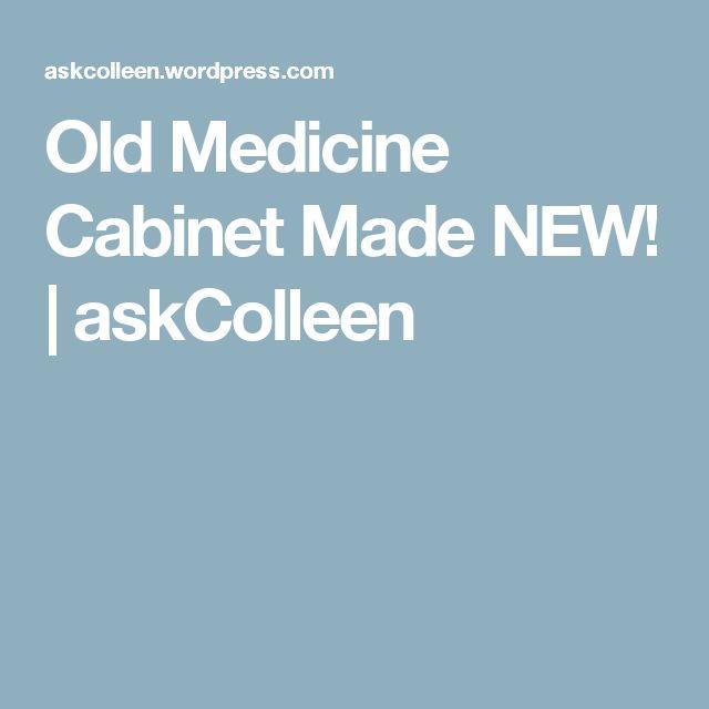 Old Medicine Cabinet Made NEW! | askColleen