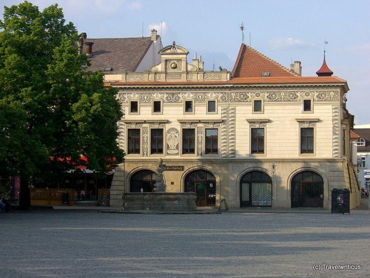 Old pharmacy in Uherský Brod, Czech Republic